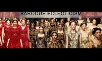 Тема тренд-зоны – «BAROQUE  ECLECTICISM» («БАРОККОВАЯ  ЭКЛЕКТИКА»)