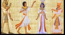 Об истории, тканях, моде и ... Древнем Египте